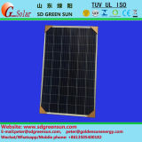 panneau 30V léger solaire (240W-260W) avec la conformité de TUV/UL/Ce