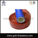Fuego manga SAE100 R15 de alta presión 6-alambre trenzado de goma flexible de la manguera hidráulica