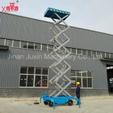 Plataforma de funcionamento elétrica da fonte da fábrica com altura de 18m