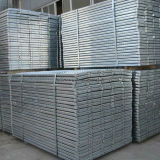 La vente d'usine directement a galvanisé la planche d'échafaudage utilisée pour Consruction