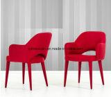 食べなさい椅子の引き締められた現代食事の喫茶店のレストランのホテルの椅子、錬鉄の創造的な方法(M-X3333)を