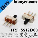 Interrupteur à bascule à deux positions à 3 broches DIP (HY-SS12D00)