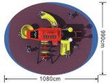 Campi da giuoco di plastica esterni HD-077A di Playsets della trasparenza dei capretti