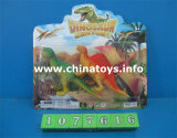 Динозавр дешевых игрушек хорошего качества мягкий пластичный установил (1077624)