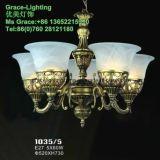 Lampadario a bracci di vetro della lampada Pendant della decorazione della fabbrica di illuminazione