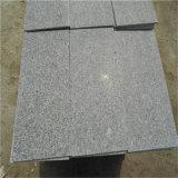 G341舗装のための灰色の炎にあてられた花こう岩の舗装用タイルの中国の平板、庭のための炎にあてられたタイル