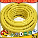 Manguito superficial liso flexible amarillo de la boda de la succión Hose/PVC del PVC