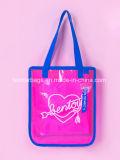 ロゴの印刷を用いるカラーPVCハンドバッグ