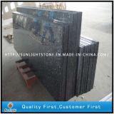 Blue Pearl préfabriqués des pierres de granite de comptoirs de cuisine