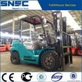 Carrello elevatore di sollevamento nuovo del diesel dell'albero di 3t 5.5m
