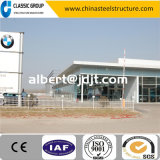 Boa aparência Instalação rápida Prefab industrial Steel Structure Car Showroom