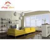 Últimas decorativas interiores de diseño en aluminio Ventanas de aluminio