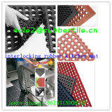 Interlock Garage Bar Cozinha Drainage Rubber Floor Mat Price