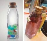 Garrafa De Bebida De Vidro De 350 Ml / Recipiente / Embalagem De Vidro