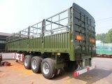 중국 널리 이용되는 큰 수용량 화물 상자 트레일러