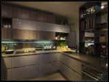 2015 Laca Welbom armário de cozinha de madeira personalizada