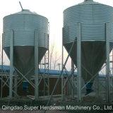 電流を通された鋼鉄による自動家禽育成の農機具の供給のサイロ