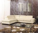 余暇のイタリアの革ソファーの家具(825)