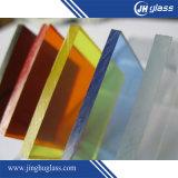 1.8mm - 19mm claro / teñido / pintado / pantalla de seda / vidrio del patrón para el edificio