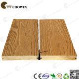 Decking en plastique résistant au feu du composé WPC en bois solide de prix usine Tw-K03