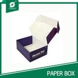 Caixa de almoço de papel extravagante para a venda por atacado em Shanghai