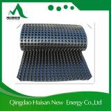 Gabbia di plastica del piatto delle cellule e di drenaggio della stuoia della fossetta dell'HDPE/drenaggio