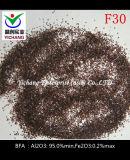 거친 사용법을%s 브라운 알루미늄 산화물