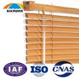 SKDの高品質によってカスタマイズされるローラーは木のベニス風の巻上げ式ブラインドを閉める