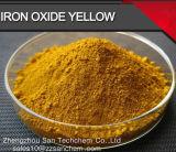Óxido de hierro estañado alto color amarillo (313) para la pintura de pigmento, ladrillo, de plástico