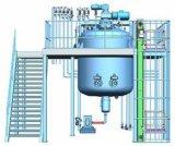 Acero inoxidable de alto cizallamiento de vacío máquina mezcladora de depósito de emulsificación