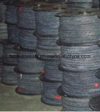 Imballaggio Braided rivestito della fibra PTFE del carbonio