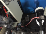 (フィルムの押出機を包むLLDPE)切り開き、巻き戻す機械フルオートマチックの巻取り機のプラスチックペーパーアルミニウムラベル