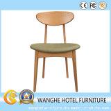 Presidenza di legno naturale di banchetto della mobilia dell'hotel di disegno moderno con gomma piuma ad alta densità