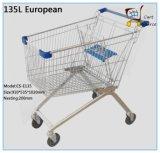135 L estilo Europeu Carrinho de Compras
