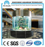 Customized Transparent Acycllic Cylinder Aquarium Price