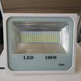 China Factory 50W/100W/150W/200W luz exterior LED SMD Reflector branco