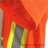 온난한 두꺼운 의복 모자 코드 100%년 폴리에스테 주황색 양털 Hoodie 작업복