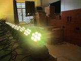 7PCS*10W 4 à 1 LED Mini pour la phase de lavage Moving Head Light éclairage de scène.