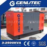 Generador Diesel 250kVA-750 kVA Cummins silencioso para Planta mezcladora de concreto