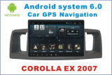 Nouvelle navigation de voiture Ui Android 6.0 pour Corolla Ex 2007 avec lecteur de voiture