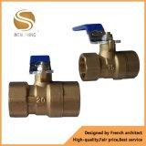 Umweltschutz-hydraulisches Rollkugel-Messingventil