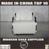Софа Seater домашней пользы кожаный с нержавеющим подлокотником