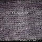 あや織りの縞が付いている柔らかいビロードポリエステルソファーファブリック