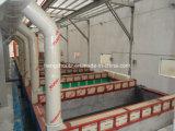 前処理を用いる粉のコーティングラインか装置または機械