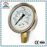 OEM Manometer van de Buis van U van het Roestvrij staal van de Manometer van de Buis van U van de Orde de Vacuüm