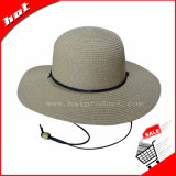 Sombrero de paja del papel de sombrero de paja de la manera