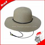 Sombrero de Paja de la moda sombrero de paja de papel