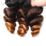 Unprocessed естественные бразильские человеческие волосы Remy девственницы
