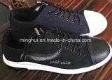 Цена вскользь ботинок ботинок женщин и людей ботинок холстины способа самое лучшее