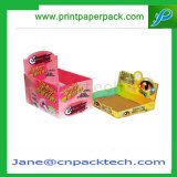 Boîte de présentation de empaquetage rigide de paquet plat de carton de logo de laminage mat fait sur commande d'impression